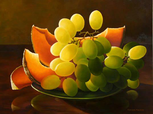 Melon and grapes 2.jpg